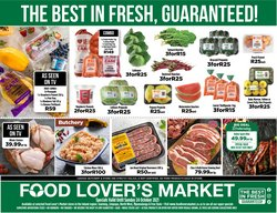 Groceries offers in the Food Lover's Market catalogue ( Published today)