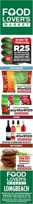 Wine offers in the Food Lover's Market catalogue in Cape Town