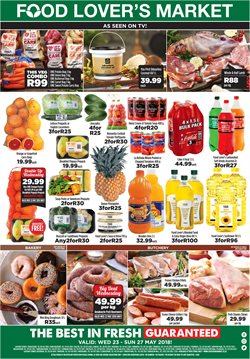 Groceries offers in the Food Lover's Market catalogue in Johannesburg