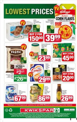 Balls specials in KwikSpar