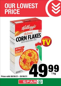 Groceries offers in the KwikSpar catalogue ( 8 days left)