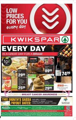 KwikSpar offers in the KwikSpar catalogue ( 2 days left)