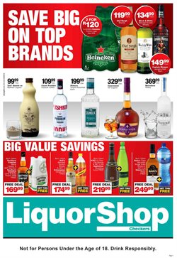Liquor Shop deals in the Pretoria special