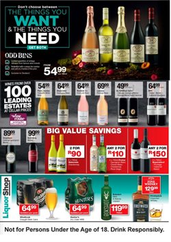 Liquor Shop deals in the Soweto special
