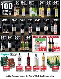 Liquor Shop deals in the Roodepoort special