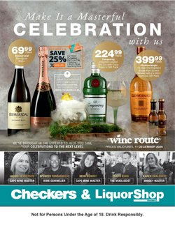 Checkers Liquor Shop catalogue ( 13 days left )