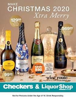 Checkers Liquor Shop catalogue ( Expired )