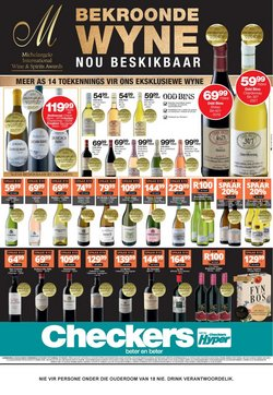 Groceries offers in the Checkers Liquor Shop catalogue ( Expires today)