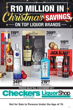 Liquor Shop deals in the Cape Town special