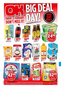 Friendly Supermarket deals in the Cape Town special