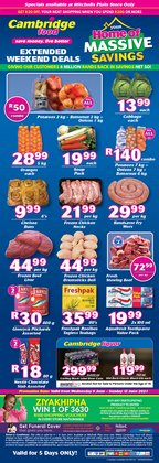 Groceries offers in the Cambridge Food catalogue ( Expires tomorrow)