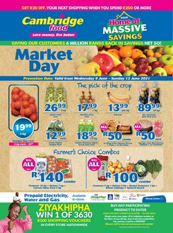 Groceries offers in the Cambridge Food catalogue ( Expires today)