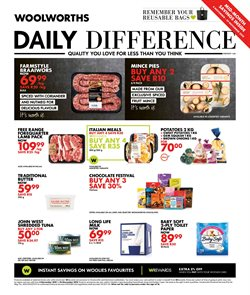 Woolworths deals in the Paarl special