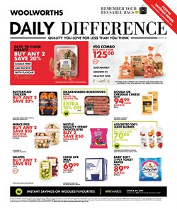 Woolworths deals in the Durban special