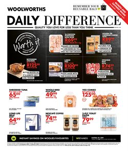 Woolworths deals in the Pretoria special