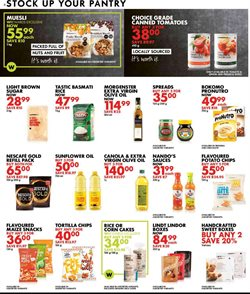 Olive oil specials in Woolworths