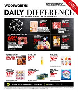 Clothes, Shoes & Accessories offers in the Woolworths catalogue in Roodepoort ( 9 days left )