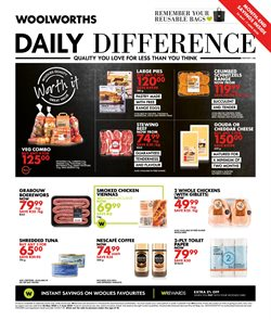 Woolworths catalogue in Durban ( 5 days left )