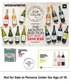 Protea specials in Woolworths