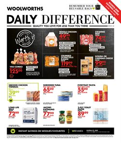 Clothes, Shoes & Accessories offers in the Woolworths catalogue in Roodepoort ( 2 days left )