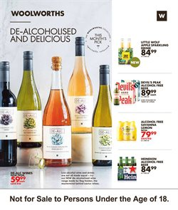 Rosé wine specials in Woolworths