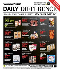 Clothes, Shoes & Accessories offers in the Woolworths catalogue ( Expires today)