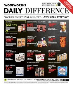 Woolworths catalogue ( Expires today)