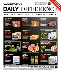 Woolworths catalogue ( 5 days left)