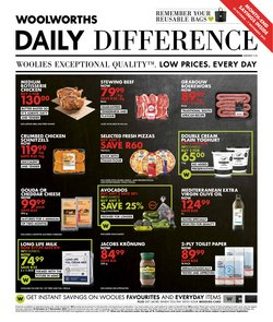 Clothes, Shoes & Accessories offers in the Woolworths catalogue ( Published today)