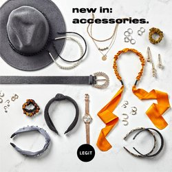 Clothes, Shoes & Accessories offers in the LEGiT catalogue ( Expires tomorrow)