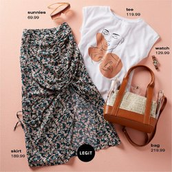 Clothes, Shoes & Accessories offers in the LEGiT catalogue ( 5 days left)