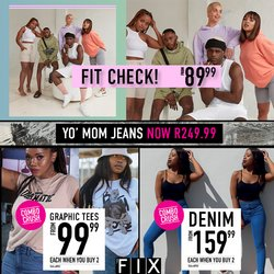 Clothes, Shoes & Accessories offers in the The FIX catalogue ( 5 days left)