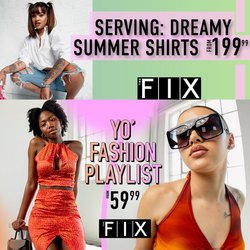 Clothes, Shoes & Accessories offers in the The FIX catalogue ( 2 days left)
