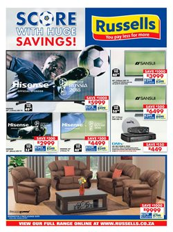 Russells deals in the Pretoria special