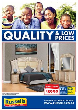 Home & Furniture offers in the Russells catalogue in Oudtshoorn