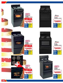 Stove offers in the Russells catalogue in Cape Town