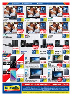 Smartphones offers in the Russells catalogue in Sandton