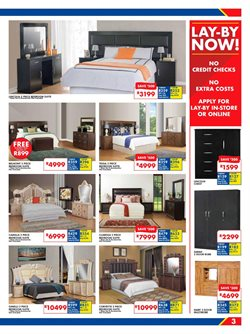 Bed offers in the Russells catalogue in Cape Town