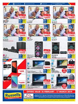 Phones offers in the Russells catalogue in Cape Town