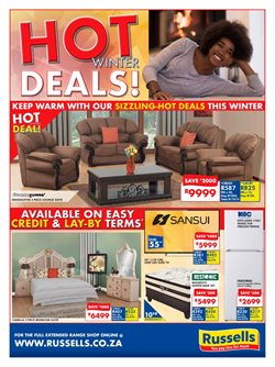 TV offers in the Russells catalogue in Cape Town