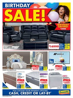 Home & Furniture offers in the Russells catalogue in Cape Town