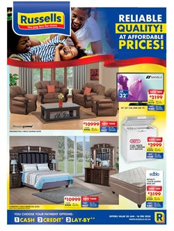 Home & Furniture offers in the Russells catalogue in Durban