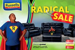 Home & Furniture offers in the Russells catalogue in Welkom ( Expires tomorrow )