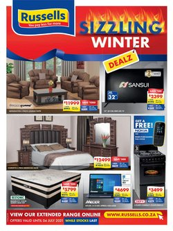 Home & Furniture offers in the Russells catalogue ( 21 days left)