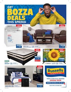 Home & Furniture offers in the Russells catalogue ( 8 days left)