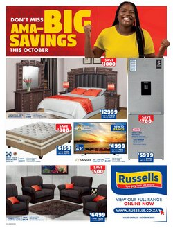 Home & Furniture offers in the Russells catalogue ( 14 days left)