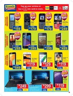 Tablet offers in the Russells catalogue in East London