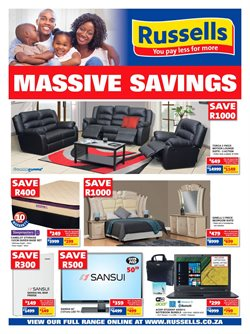 Russells deals in the Durban special