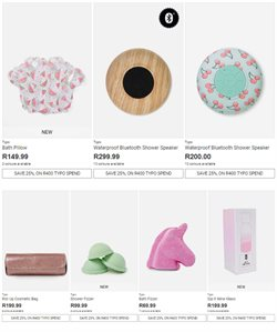 Pillow offers in the Typo catalogue in Cape Town