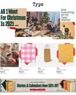 Christmas offers in the Typo catalogue ( 26 days left)